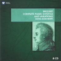 COMPLETE PIANO SONATAS AND VARIATIONS/ DANIEL BARENBOIM [모차르트: 피아노 소나타 전곡과 변주곡]
