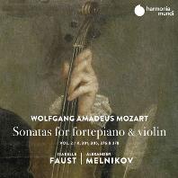 SONATAS FOR FORTEPIANO & VIOLIN VOL.2/ ISABELLE FAUST, ALEXANDER MELNIKOV [모차르트: 바이올린 소나타 2집 - 이자벨 파우스트, 알렉산더 멜니코프]