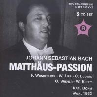 MATTHAUS-PASSION/ KARL BOHM [바흐: 마태 수난곡]