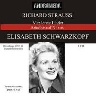 VIER LETZTE LIEDER/ ELISABETH SCHWARZKOPF