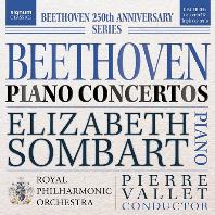 PIANO CONCERTO NO.5 & TRIPLE CONCERTO/ ELIZABETH SOMBART, DUNCAN RIDDELL, RICHARD HARWOOD, PIERRE VALLET [베토벤: 피아노 협주곡 5번 & 삼중 협주곡 - 솜바르, 리델, 하우드]