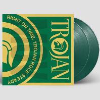 RIGHT ON TIME: TROJAN ROCK STEADY [180G GREEN LP]