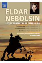 LIVE IN CONCERT IN ST PETERSBURG: PIANO CONCERTOS & SONATA/ VLADIMIR LANDE [차이코프스키 & 라흐마니노프: 피아노협주곡 외]