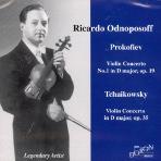 VIOLIN CONCERTO NO.1 IN D MAJOR OP.19 ETC/ RICARDO ODNOPOSOFF