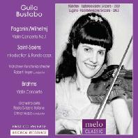 VIOLIN CONCERTO NO.1/ GUILA BUSTABO, OTMAR NUSSIO [귈라 부스타보: 바이올린 협주곡]