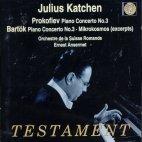 PIANO CONCERTOS ETC/ JULIUS KATCHEN