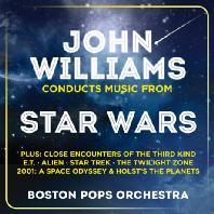 JOHN WILLIAMS CONDUCTS MUSIC FROM STAR WARS: BOSTON POPS ORCHESTRA [존 윌리엄스가 지휘하는 스타워즈 모음집: 보스턴 팝스 오케스트라]