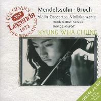 VIOLIN CONCERTOS/ KYUNG-WHA CHUNG [DECCA LEGENDS] [멘델스존: 바이올린 협주곡 1번, 브루흐: 스코틀랜드 환상곡 - 정경화]