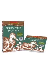 스콜라스틱 LEVEL 08 [DVD+BOOK] [SCHOLASTIC: MAKE WAY FOR DUCKLINGS]