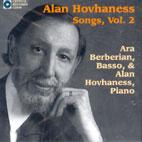SONGS BY HOVHANESS VOL.2/ ARA BERBERIAN