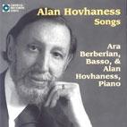 SONGS BY HOVHANESS/ ARA BERBERIAN