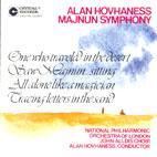 SYMPHONY NO.24 MAJNUN SYMPHONY/ ALAN HOVHANESS