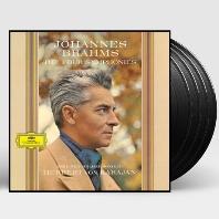 THE FOUR SYMPHONIES/ HERBERT VON KARAJAN [브람스: 교향곡 전곡 60년대녹음 - 카라얀] [한정반] [180G LP]