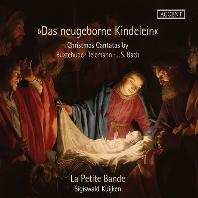 CHRISTMAS CANTATAS/ LA PETITE BANDE, SIGISWALD KUIJKEN [북스테후데, 텔레만, 바흐: 성탄 칸타타 - 라 프티트 방드, 카위컨]