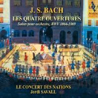 LES QUATRE OUVERTURES/ JORDI SAVALL [SACD HYBRID] [바흐: 관현악 조곡]