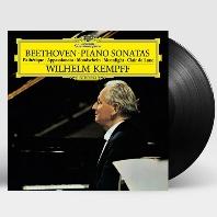PIANO SONATAS/ WILHELM KEMPFF [베토벤: 피아노 소나타 - 비창, 월광, 열정 - 빌헬름 켐프] [180G LP]