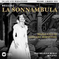 BELLINI: LA SONNAMBULA/ LEONARD BERNSTEIN [마리아 칼라스: 벨리니 몽유병의 여인 - 1955 밀라노 실황]