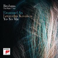 THE PIANO TRIOS/ YO-YO MA, EMANUEL AX, LEONIDAS KAVAKOS [브람스: 피아노 트리오 - 요요마, 엠마누엘 액스, 레오니다스 카바코스]