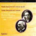 VIOLIN CONCERTOS/ ANTHONY MARWOOD, MARTYN BRABBINS [THE ROMANTIC VIOLIN CONCERTO 5]