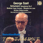 TRAGIC OVERTURE ETC/ GEORGE SZELL