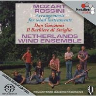 DON GIOVANI & IL BARBIERE DI SIVIGLIA: ARRANGEMENTS FOR WIND INSTRUMENTS/ NETHERLANDS WIND ENSEMBLE [SACD HYBRID] [모차르트 & 로시니: 돈 지오반니 & 세비야의 이발사 - 목관 앙상블 편곡]