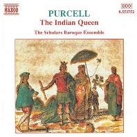 THE INDIAN QUEEN/ THE SCHOLARS BAROQUE ENSEMBLE [퍼셀: 인도 여왕 - 스콜라스 바로크 앙상블]