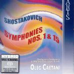SYMPHONIES NOS 1 & 15/ OLEG CAETANI [SACD HYBRID]