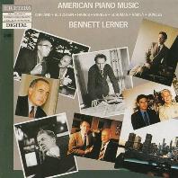 AMERICAN PIANO MUSIC VOL.2/ BENNETT LERNER [미국의 피아노 음악 2집 - 베넷 레너]