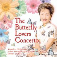 THE BUTTERFLY LOVERS CONCERTO/ JAMES JUDD [니시자키 타카코: 나비부인이 사랑하는 협주곡]