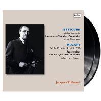 BEETHOVEN & MOZART VIOLIN CONCERTOS/ VICTRO DESARZENS, EDUARD VAN BEINUM [180G LP] [자크 티보의 예술 1집: 베토벤 & 모차르트 바이올린 협주곡] [한정반]