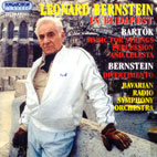 BERNSTEIN IN BUDAPEST/ LEONARD BERNSTEIN