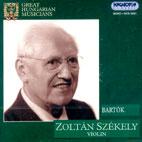 GREAT HUNGARIAN MUSICIAN/ ZOLTAN SZEKELY
