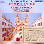 SYMPHONIES FROM THE 1780S/ CAPELLA SAVARIA
