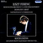 PIANO CONCERTOS & VARIATIONS ON A NURSERY SONG/ ZOLTAN KOCSIS, IVAN FISCHER [리스트: 피아노 협주곡 1,2번 & 도흐나니: 동요 주제에 의한 변주곡]