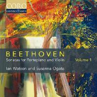 SONATAS FOR FORTEPIANO AND VIOLIN VOL.1/ IAN WATSON, SUSANNA OGATA [베토벤: 포르테피아노와 바이올린을 위한 소나타 1집]