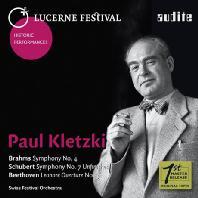 SYMPHONIES & LEONORE OVERTURE NO.3/ PAUL KLETZKI [브람스, 슈베르트 교향곡 & 베토벤 레오노레 서곡 - 파울 클레츠키]