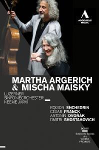 SCHERZO CAPRICCIOSO IN D FLAT MAJOR OP.66/ MARTHA ARGERICH, MISCHA MAISKY, NEEME JARVI [프랑크: 첼로소나타 외(바이올린소나타의 편곡) - 아르헤리치, 마이스키]