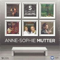 ANNE-SOPHIE MUTTER [5 CLASSIC ALBUMS] [안네-소피 무터]