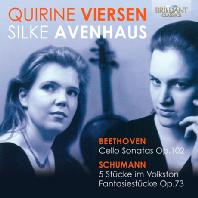 MUSIC FOR CELLO AND PIANO/ QUIRINE VIERSEN, SILKE AVENHAUS