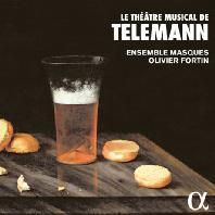 LE THEATRE MUSICAL DE TELEMANN/ ENSEMBLE MASQUES, OLIVIER FORTIN [텔레만: 관현악 모음곡집]