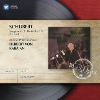 SYMPHONIES 8 & 9/ HERBERT VON KARAJAN [WARNER MASTERS] [슈베르트: 교향곡 8,9번]