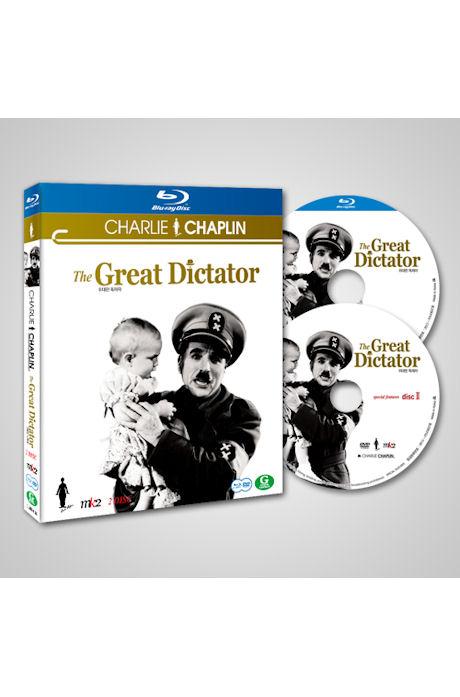 찰리 채플린: 위대한 독재자 [BD+DVD] [THE GREAT DICTATOR]