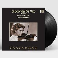 VIOLIN SONATA/ GIOCONDA DE VITO, EDWIN FISCHER [브람스: 바이올린 소나타 - 지오콘다 데 비토] [LP]