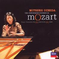 PIANO CONCERTOS 23 & 24/ MITSUKO UCHIDA [모차르트: 피아노 협주곡 23, 24번 - 미츠코 우치다]