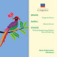 HUNGARIAN DANCES, SLAVONIC DANCES, TONE POEMS/ FRITZ REINER [브람스, 드보르작, 슈트라우스: 관현악 작품집]