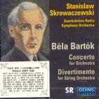 DIVERTIMENTO FOR STRING ORCHESTRA/ CONCERTO FOR ORCHESTRA/ STANISLAW SKROWACZEWSKI