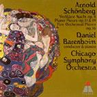 VERKLARTE NACHT, PIANO & ORCHESTRAL PIECES/ DANIEL BARENBOIM