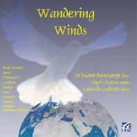 WANDERING WINDS/ WISSAM BOUSTANY, NIGEL CLAYTON