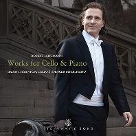 WORKS FOR CELLO & PIANO/ BRIAN THORNTON, SPENCER MYER [슈만: 아다지오와 알레그로, 민요에 의한 다섯 개의 작품, 환상소곡 - 브라이언 손튼]