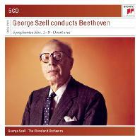 GEORGE SZELL CONDUCTS BEETHOVEN [SONY MASTERS] [조지 셸이 지휘하는 베토벤 교향곡 전집 & 서곡집]